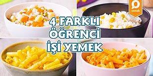 4 Farklı Öğrenci İşi Yemek