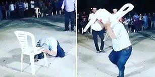 Sarhoş Adamın Düğünde Dans Niyetine Sandalyeyle Dövüştüğü Efsane Anlar