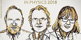 Lazer Fiziği Çalışmalarına Gitti: Nobel Fizik Ödülü'nü Arthur Ashkin, Gerard Mouru ve Donna Strickland Kazandı
