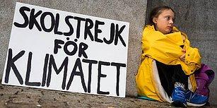 İklim Sorununa Dikkat Çekmek İçin Seçim Gününe Kadar Okula Gitmeyi Reddeden 15 Yaşındaki Greta Thunberg