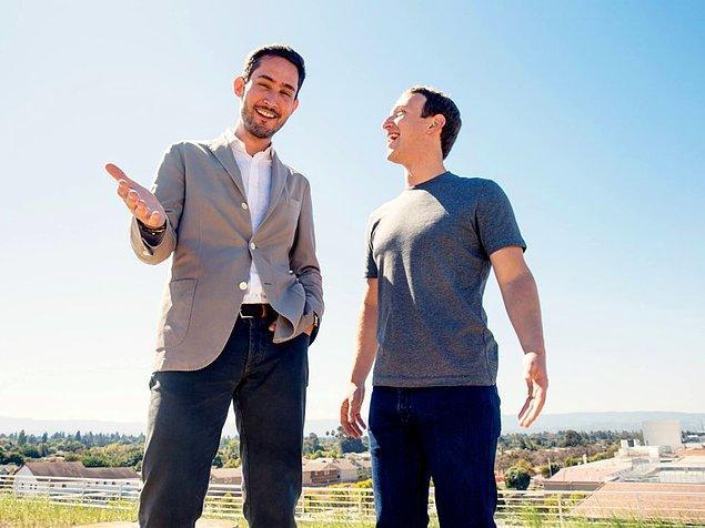 Nisan 2012'de, Zuckerberg'le anlaşan Systrom, uygulamanın %60 hisselerini Facebook'a sattı.