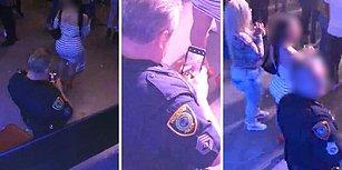 Konser Sırasında Bir Kadının Gizlice Kalçalarını Kameraya Çeken Polis!