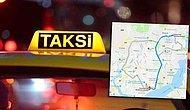 10km Mesafe İçin  213 TL Alan Taksiciden Savunma