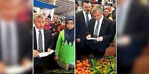 70 Kuruşa Aldığı Domatesi 5 Liraya Satan Pazarcıya 'Ya Fiyatı Düşür Ya Tezgahı Kapat' Diyen Belediye Başkanı