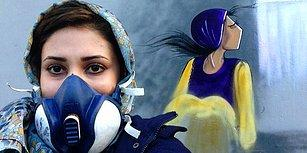 Eserlerinde Kadının Gücünü Tasvir Eden Afganistan'ın İlk Kadın Grafiti Sanatçısı: Shamisa Hassani
