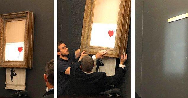"""Müzayede evi: """"Biz de çok şaşırdık. Demek ki Banksy bize bir şaka yapmak istedi"""""""