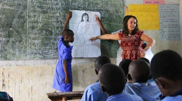 8. Uganda'da cinsel eğitim yasak.