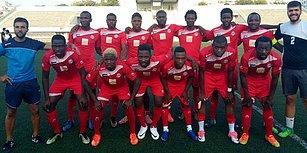 Profesyonel Futbol Oynama Umuduyla İstanbul'a Gelen Bir Grup Afrikalı Futbolcu Takım Kurdu: 'Konviction Rüya Spor'
