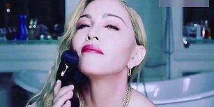 Seks Oyuncağına Benzeyen Yüz Masajı Ürünü Tanıtan Madonna, Sosyal Medyanın Diline Düştü!