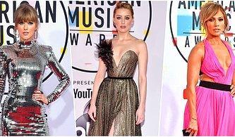 Kırmızı Halı Alarmı: 2018 Amerikan Müzik Ödülleri'nin Şık ve Rüküşlerini Seçiyoruz!