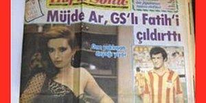 Fatih Terim'in Kıskançlık Krizi Geçirip Müjde Ar'a Gül Gönderen Adamın Kafasını Yardığı Skandal Olay!
