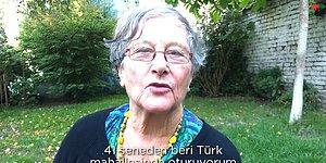 Brüksel'de 40 Yıldır Türklerle Yaşayan Brigitte, Türkçe Olarak Türkleri Anlatıyor