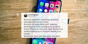 Papaz Brunson'nun Serbest Bırakılmasına MHP'li Enginyurt'un Tepkisi: 'iPhone'numu Verin'