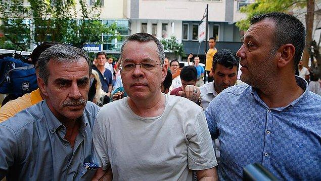 Brunson: 'Türk halkını seviyoruz'