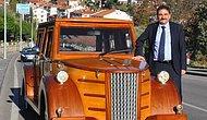 Kendine Çam Ağacından Atatürk'ün Makam Aracının Benzerini Yaptıran Çamlıdere Belediye Başkanı