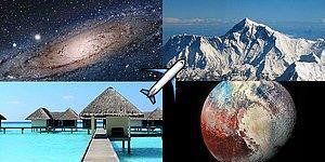 Kendi Gezegenini Yap, Tatile Gitmen Gereken Yeri Söyleyelim!