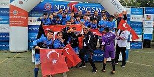 Sevinçleri Görülmeye Değer! Şırnak U13 Futbol Takımı, Barcelona'da Şampiyon Oldu