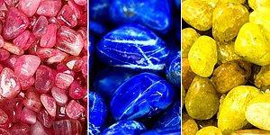 Bu Renkli Taşlar Testine Göre Vücudunun Neresi Çekici?