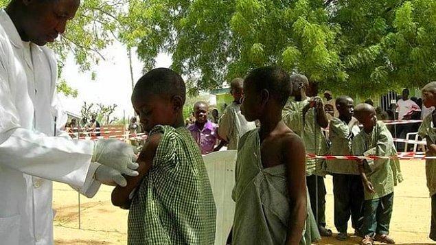 18. 1.210 kişi - Batı Afrika Menenjit Salgını (2009-2010)
