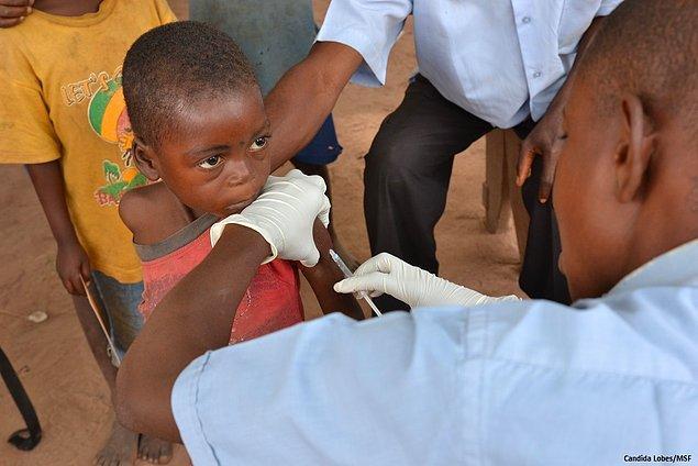 21. 4.555 kişi - Kongo Kızamık Epidemisi (2011 - ...)