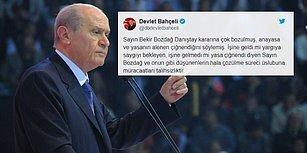 Bahçeli'den 'Öğrenci Andı' Açıklaması: 'Tarihte Türk'tük, Halde Türk'üz, İstikbalde de Türk Olacağız'