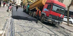 Bergama Taşı Üzerine Asfalt! Kartal Belediyesi'nden 'Kamuoyu Yoklaması Yapıldı' Açıklaması