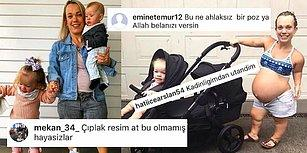 Bi' Salın Artık! Instagram'da Fotosu Paylaşılan Hamile Kadına Yapılan Akılalmaz Yorumlar