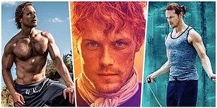 Kızıl Saçları ve Masmavi Gözleriyle İskoç Genlerinin Hakkını Veren, Outlander'ın Yakışıklılık Abidesi Sam Heughan