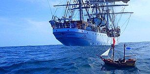 İki Minik Maceracının Elinden Çıkan ve Neredeyse 5.000 Kilometre Seyahat Eden Oyuncak Geminin İç Isıtan Hikâyesi