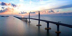 Yapımı 10 Yıl Sürdü: Dünyanın En Uzun Köprüsü Çin'de Açıldı