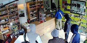 Avanak Soyguncular! Dükkan Sahibinin 'Şimdi Gidin Akşam Gelin' Sözüne İnanıp Gözaltına Alındılar