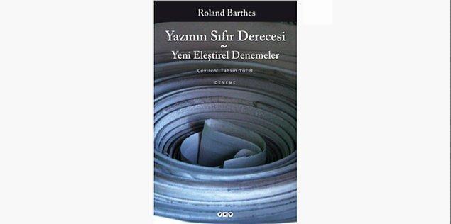 63. Yazının Sıfır Derecesi - Roland Barthes (1953)