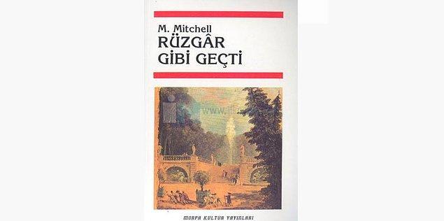 38. Rüzgâr Gibi Geçti - Margaret Mitchell (1936)