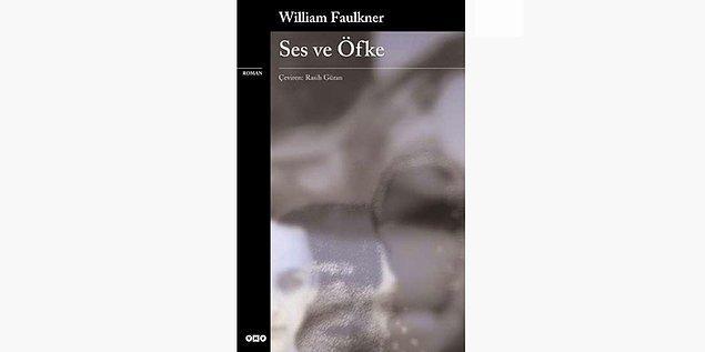 34. Ses ve Öfke - William Faulkner (1929)
