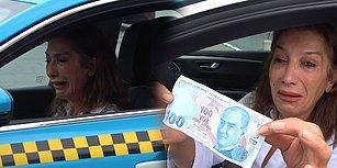 İranlı Turistler Tarafından Sahte 100 Lira Verilen Taksici Hüngür Hüngür Ağladı