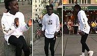 Yaptığı Moonwalk Dansıyla Kendine Hayran Bırakan Sokak Sanatçısı: Salif Lasource