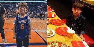 Düzenlediği Doğum Günü Partisine Kimse Gelmeyince Yalnız Kalan Çocuğa NBA Takımı Phoenix Suns Sahip Çıktı!