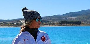Cumhuriyetin 95. Yılına İthaf Etti: Milli Sporcu Şahika Ercümen Serbest Dalışta Dünya Rekoru Kırdı