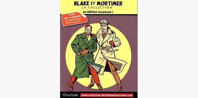 90. Blake ve Mortimer - Edgar P. Jacobs (1950)
