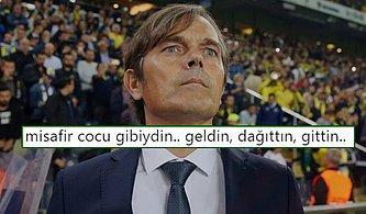 Teknik Direktör Cocu'nun Görevden Alınmasını Sevinçle Karşılayan Fenerbahçe Taraftarları