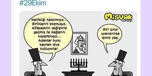 Cumhuriyet Değerlerine Hakaret Eden Misvak Dergisi Tepkiler Üzerine Skandal Paylaşımını Sildi!
