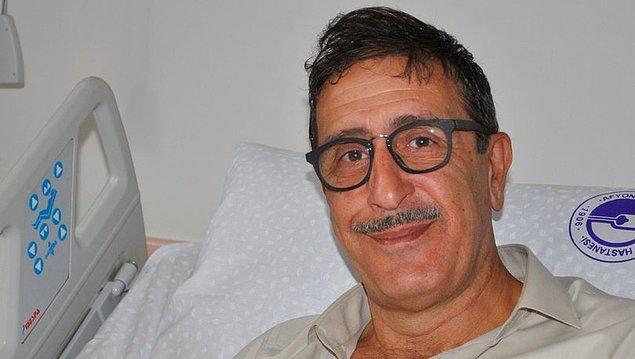 3. Bir diğer eski komedyenlerimizden Cem Özer de tıpkı meslektaşı Mehmet Ali Erbil gibi düşerek hastaneye kaldırıldı.