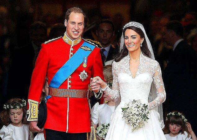 6. Prens William ve Kate Middleton