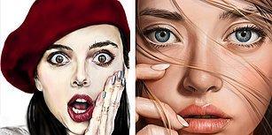 Sadece Cep Telefonu ve Tabletle Yapılan Bu Çizimleri Görünce Gözlerinize İnanamayacaksınız!