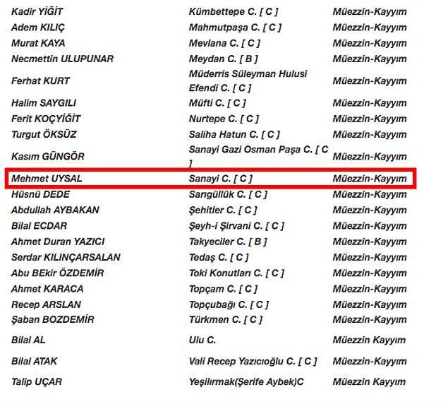 Ancak, müftü yardımcısı olduğu belirtilen Mehmet Uysal'ın Adana'daki geneleve kayyım olarak atandığı iddiası doğru değil.