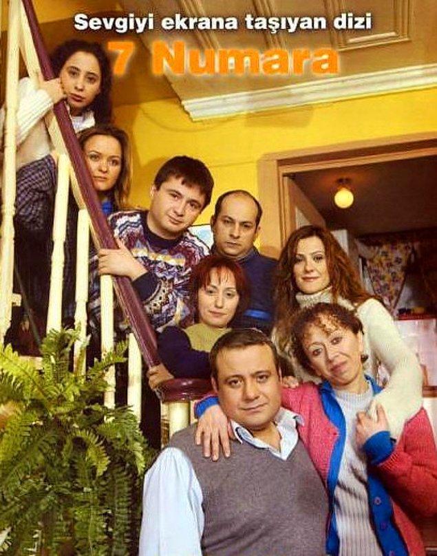 5. Türkiye'nin en iyi komedi dizilerinden biriydi 7 Numara. Herhalde galiba sanırsamcı Haydar'ı Alper Kul çok güzel oynar sanki.  Cansu'ya da Ezgi Mola dedik.