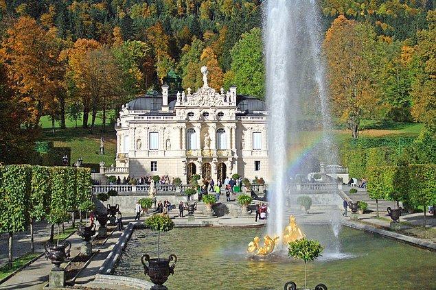 3. Linderhof Sarayı, Almanya.