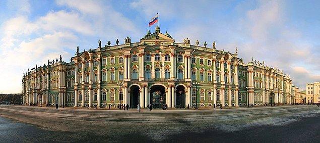 4. Kışlık Saray, Rusya.
