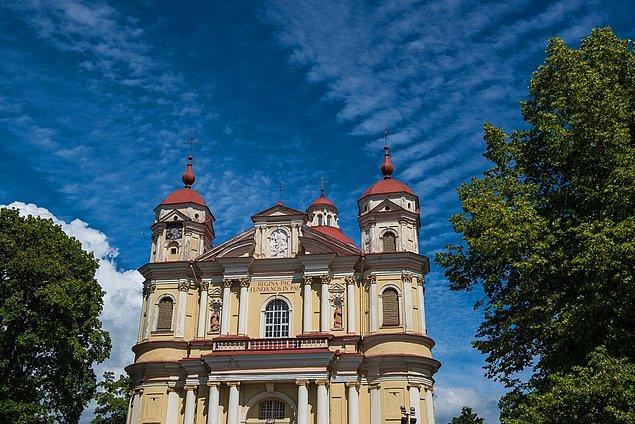 5. St. Peter ve St. Paul Kilisesi, Litvanya.