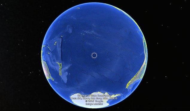 14. Nemo Noktası dünyadaki ulaşması en zor noktadır.
